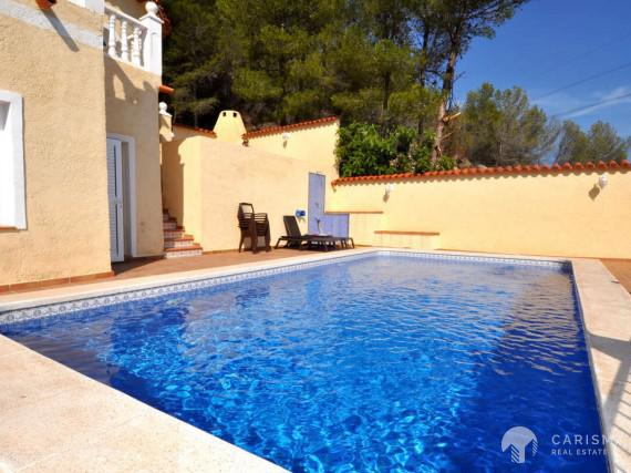 Spacious villa in Altea Hills with beautiful views of the bay of Altea 2