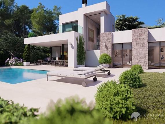 Luxury villa for sale in Benissa Costa 1