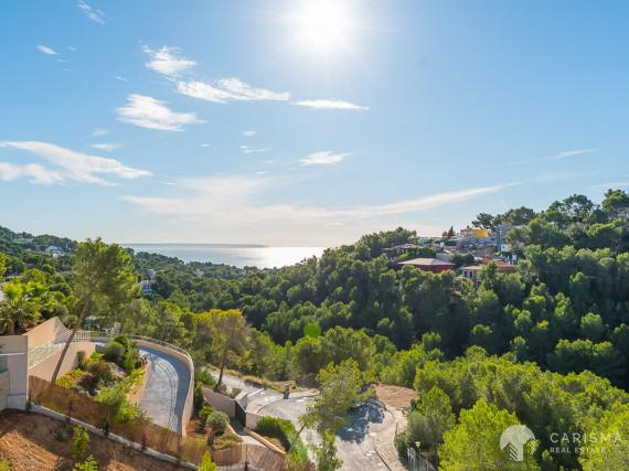 Exclusive contemporary villa with sea views in Costa d'en Blanes 1