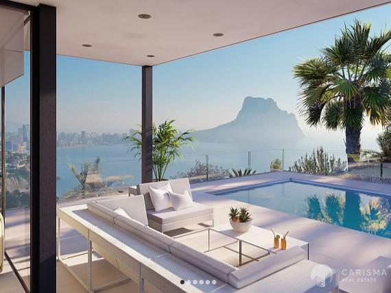 Villa with sea views in Calpe 1