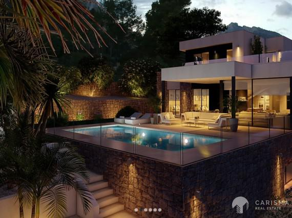 Villa with sea views in Calpe 2
