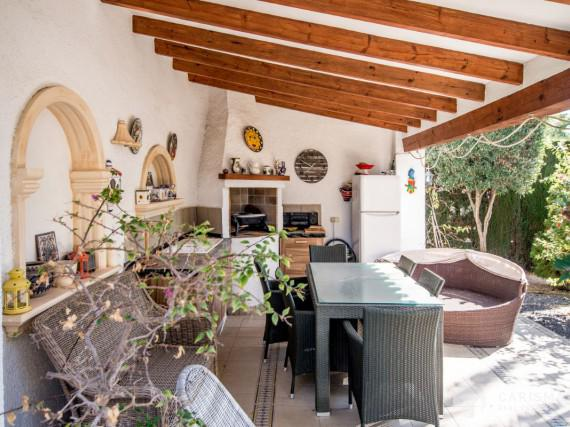 A cozy Mediterranean villa in a peaceful residencial area of Calpe (31)